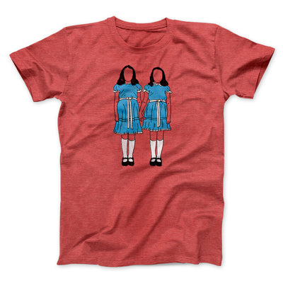 Grady Twins Men/Unisex T-Shirt-T-Shirt-Printify-Heather Red-S-Famous IRL