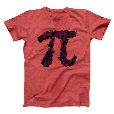 Raspberry Pi Men/Unisex T-Shirt-Heather Red - Famous IRL
