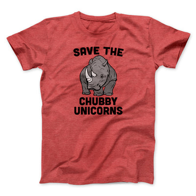 Save The Chubby Unicorns Men/Unisex T-Shirt
