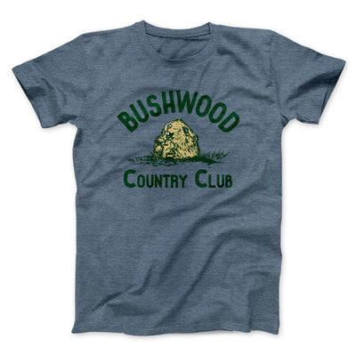 Bushwood Country Club Men/Unisex T-Shirt-Heather Slate - Famous IRL