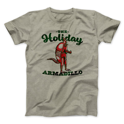 The Holiday Armadillo Men/Unisex T-Shirt