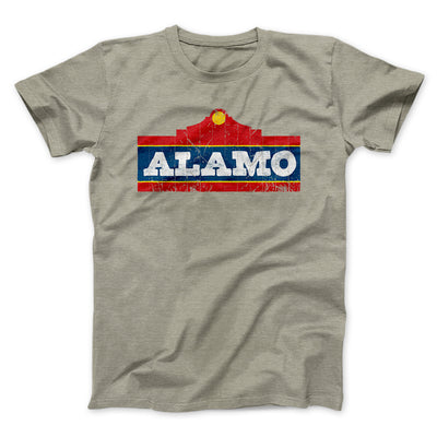 Alamo Beer Men/Unisex T-Shirt-Heather Stone - Famous IRL
