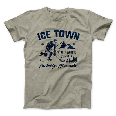 Ice Town Sports Complex Men/Unisex T-Shirt-Heather Stone - Famous IRL