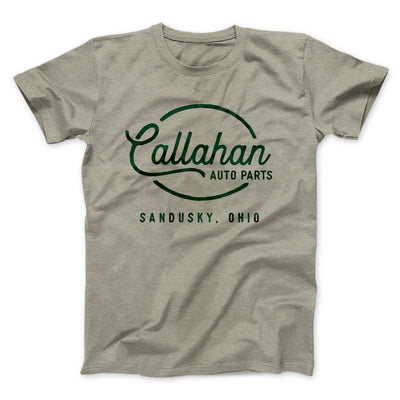 Callahan Auto Parts Men/Unisex T-Shirt-Heather Stone - Famous IRL
