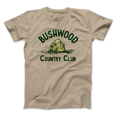 Bushwood Country Club Men/Unisex T-Shirt-Heather Tan - Famous IRL