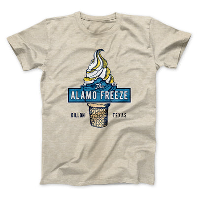 The Alamo Freeze Men/Unisex T-Shirt-Heather Tan - Famous IRL