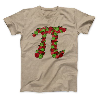 Apple Pi Men/Unisex T-Shirt-Heather Tan - Famous IRL