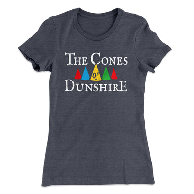 The Cones of Dunshire Women's T-Shirt-Solid Heavy Metal - Famous IRL