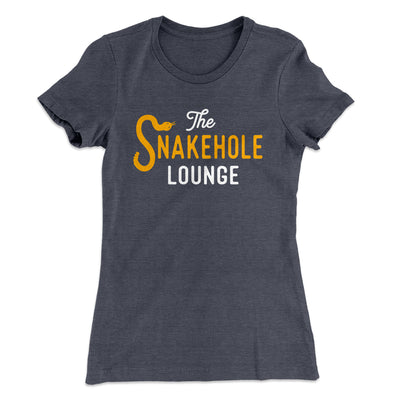Snakehole Lounge Women's T-Shirt-Solid Heavy Metal - Famous IRL