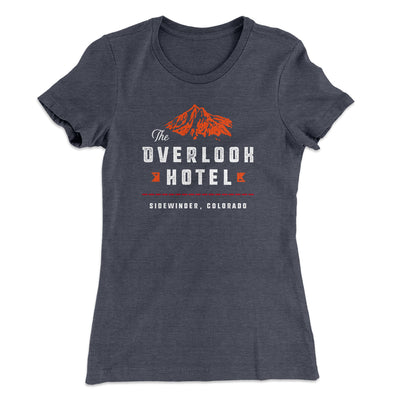The Overlook Hotel Women's T-Shirt-Solid Heavy Metal - Famous IRL