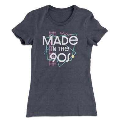 Made In The 90s Women's T-Shirt-Women's T-Shirt-White Label DTG-Heavy Metal-S-Famous IRL