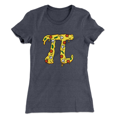 Pizza Pi Women's T-Shirt-Solid Heavy Metal - Famous IRL
