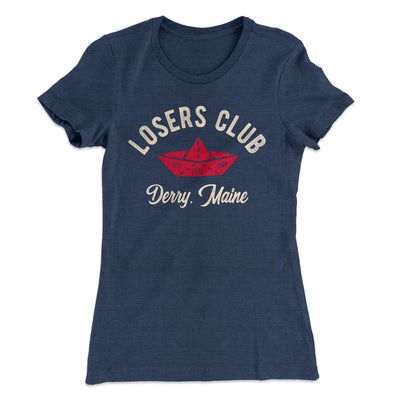 Losers Club Women's T-Shirt-Solid Indigo - Famous IRL