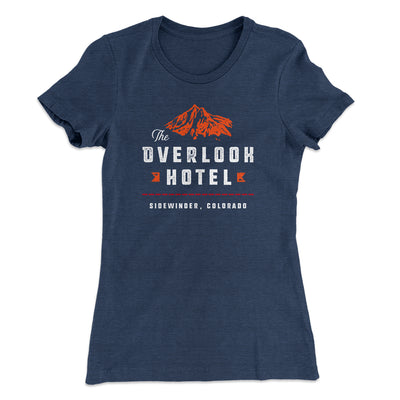 The Overlook Hotel Women's T-Shirt-Solid Indigo - Famous IRL