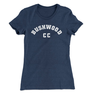 Bushwood Country Club Women's T-Shirt-Solid Indigo - Famous IRL