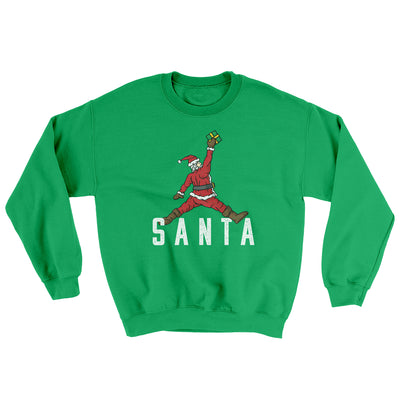 Air Santa Ugly Sweater-Ugly Sweater-White Label DTG-Irish Green-S-Famous IRL