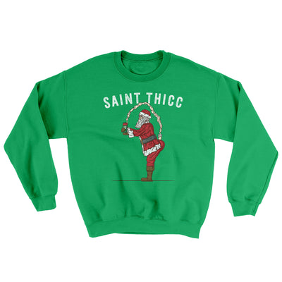 Saint Thicc Ugly Sweater