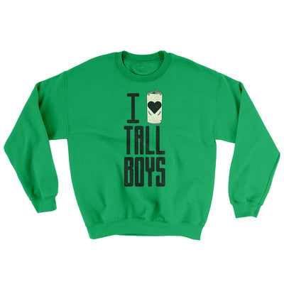 I Love Tall Boys Ugly Sweater