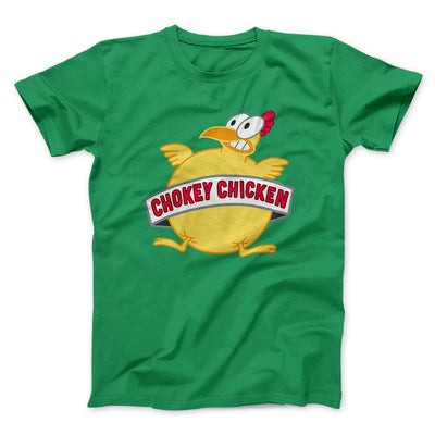 Chokey Chicken Men/Unisex T-Shirt-Kelly - Famous IRL