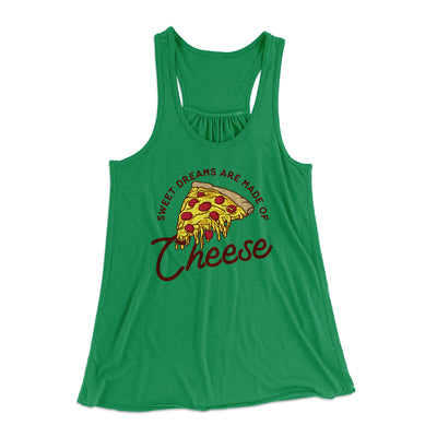 Sweet Dreams Are Made Of Cheese Women's Flowey Tank