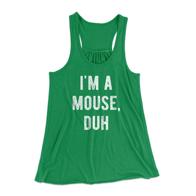 I'm A Mouse Costume Women's Flowey Tank Top