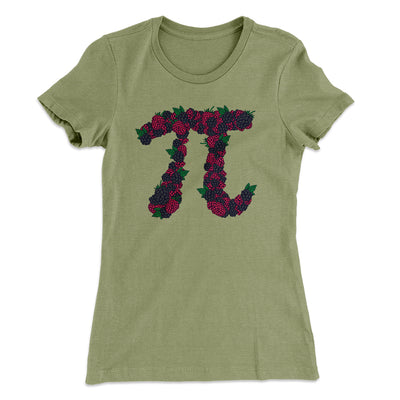 Raspberry Pi Women's T-Shirt-Solid Light Olive - Famous IRL