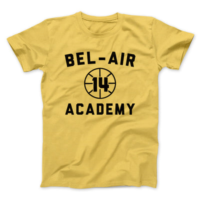 Bel-Air Academy Basketball Men/Unisex T-Shirt-Maize Yellow - Famous IRL