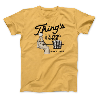 Thing's Driving Range Men/Unisex T-Shirt