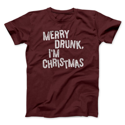 Merry Drunk I'm Christmas Men/Unisex T-Shirt