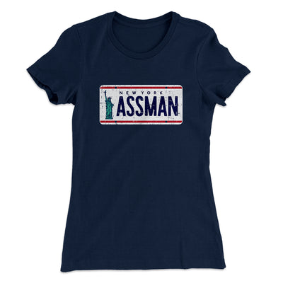 Assman Women's T-Shirt - Famous IRL Funny and Ironic T-Shirts and Apparel