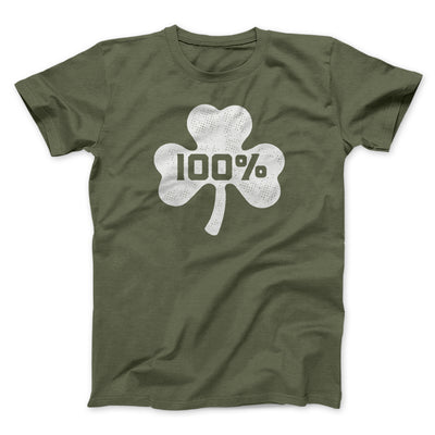 100% Irish Men/Unisex T-Shirt
