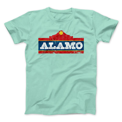 Alamo Beer Men/Unisex T-Shirt-Mint - Famous IRL