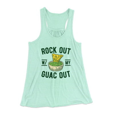 Rock Out With My Guac Out Women's Flowey Tank - Famous In Real Life
