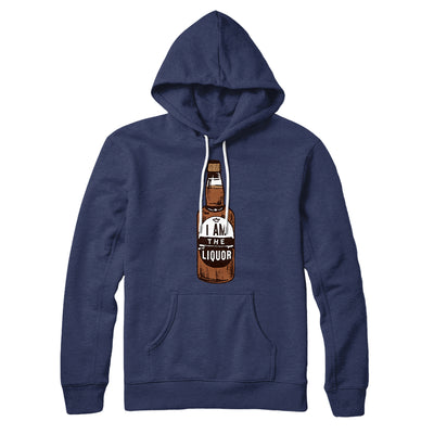 I am the Liquor Hoodie-Navy - Famous IRL