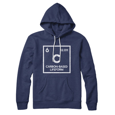Carbon Based Lifeform Hoodie-Navy - Famous IRL