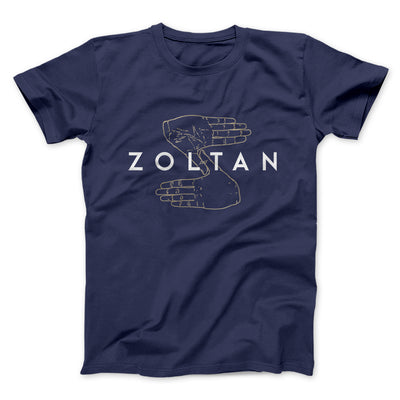 Zoltan Men/Unisex T-Shirt-Navy - Famous IRL