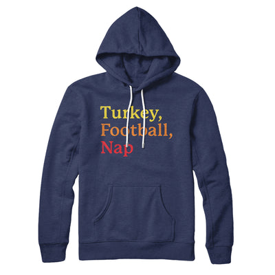 Turkey, Football, Nap Hoodie
