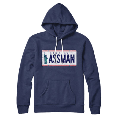 Assman Hoodie - Famous IRL Funny and Ironic T-Shirts and Apparel