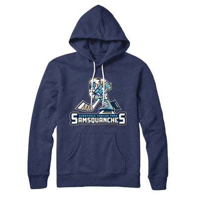Sunnyvale Samsquanches Hoodie-Navy - Famous IRL