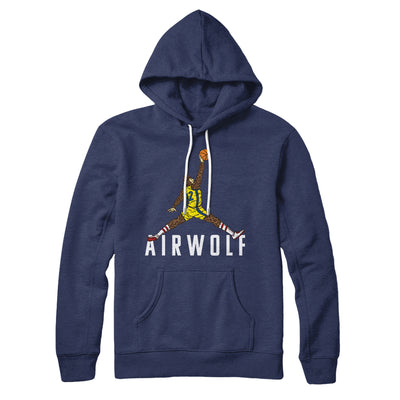 Air Wolf Hoodie-Navy - Famous IRL