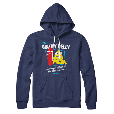 The Wacky Delly Hoodie-Navy - Famous IRL