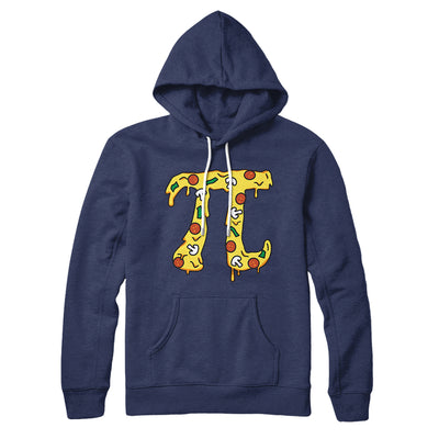 Pizza Pi Hoodie-Navy - Famous IRL