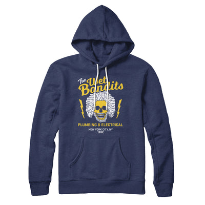 The Wet Bandits Hoodie-Navy - Famous IRL