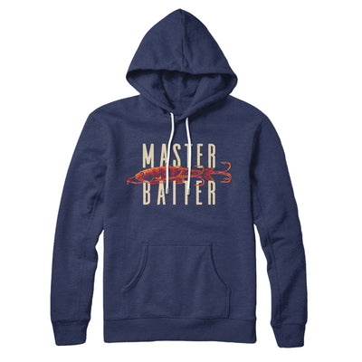 Master Baiter Hoodie-Navy - Famous IRL