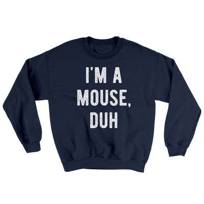 I'm A Mouse Costume Ugly Sweater
