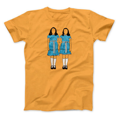Grady Twins Men/Unisex T-Shirt-T-Shirt-Printify-Orange-S-Famous IRL