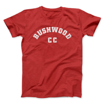 Bushwood Country Club Men/Unisex T-Shirt-Red - Famous IRL