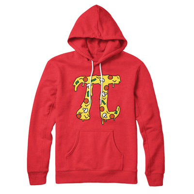 Pizza Pi Hoodie-Red - Famous IRL