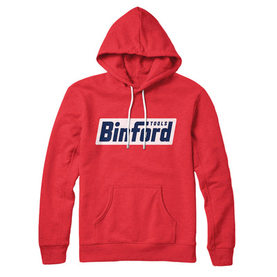 Binford Tools Hoodie - Famous IRL Funny and Ironic T-Shirts and Apparel
