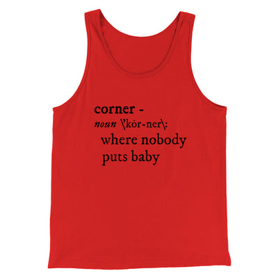 Nobody Puts Baby In A Corner Men/Unisex Tank Top